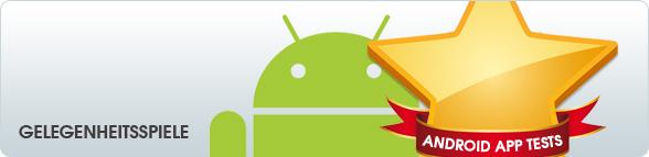 Android App Tests: Gelegenheitsspiele