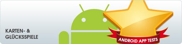 Android App Tests: Karten- & Glücksspiele
