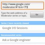 Google Moderator Android App