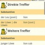 LEO dictionary Android App