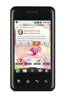 LG Optimus Chic Android Smartphone