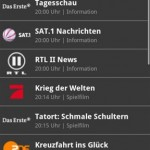 Programm Manager Android App