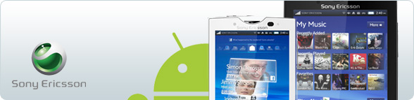 Sony Ericsson Android Smartphones