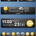 Weather widgets (yr.no)