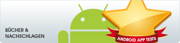 Android App Tests: Bcher &amp; Nachschlagen