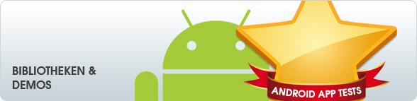 Android App Tests: Bibliotheken & Demos