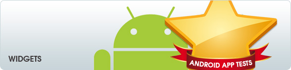 Android App Tests: Widgets