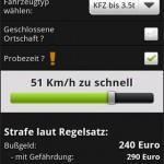 Bussgeldrechner Android App