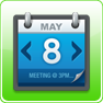 Kalender Scroll Widget Agenda