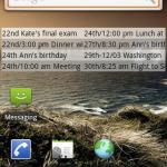 Max Calendar Widget Android App