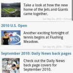 New York Sports News Android App