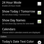 Simple Calendar Pro Android Widget
