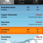 Ski & Snow Report Android App