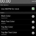 Advanced Clock Widget Android Widget
