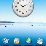 Chrome Clock Widget Android Widget