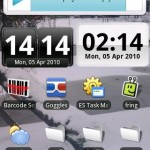 DigiClock Widget Android App