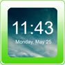 Digital Clock Widget Android App