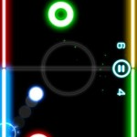 Glow Hockey Android Game