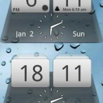 MIUI Digital Weather Clock Android Widget