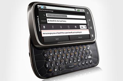 Motorola Cliq 2 Teaser