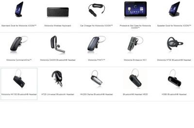 Motorola Xoom Accessoires