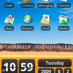 Retro Clock Widget Android App