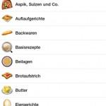 Rezepte Android App
