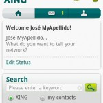 Xing Launcher Android App