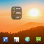 BatStat Battery Widget Android App
