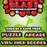 Bubble Blast Valentine Android App