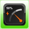 Gauge Battery Widget Android App
