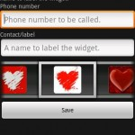 My love widget Android App