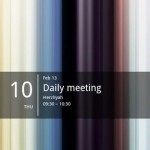 Simple Calendar Widget Android App