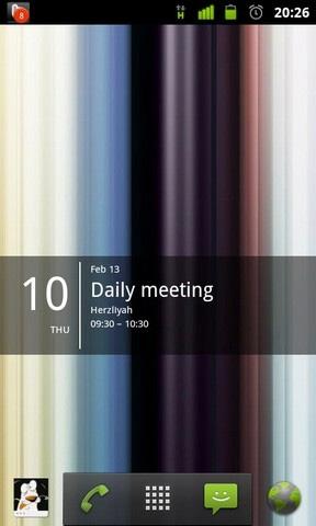 Kalender widget deutsch