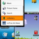 vizBattery Widget Android App