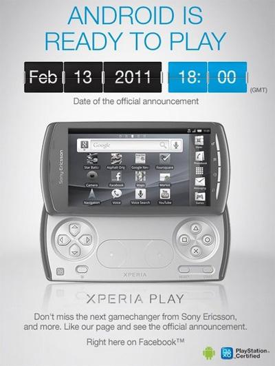 Sony Ericsson Xperia PLAY Flyer