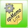 apMemo Lite Widget