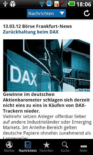 börse frankfurt realtime kostenlos