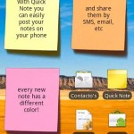 Quick Note (post-it widget)