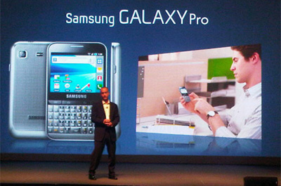 Samsung Galaxy Pro Teaser
