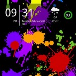 Splatter Live-Wallpaper