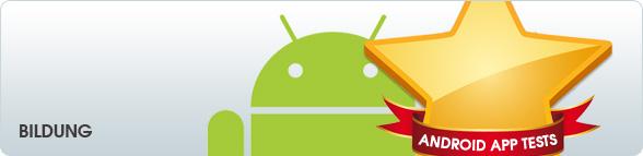 Android App Tests: Bildung