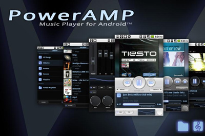 PowerAMP Music Player Teaser
