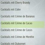 Die Cocktail App