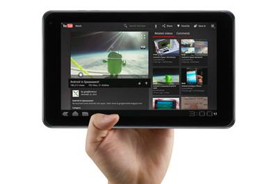 LG Optimus Pad Teaser
