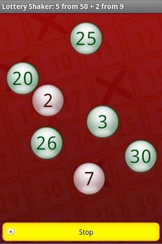lottery shaker app