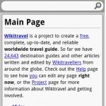 Wikitravel Mobile