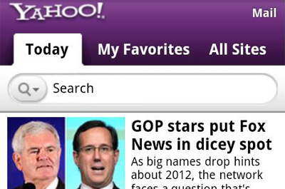 Yahoo Teaser