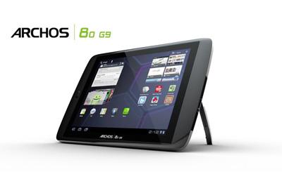Archos 80 G9 Teaser