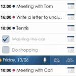 beOrganized Calendar and Tasks